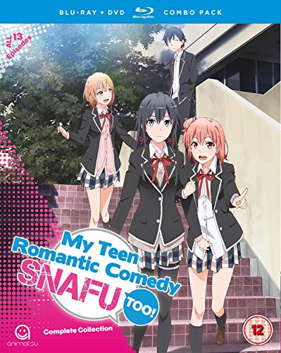 My Teen Romantic Comedy SNAFU Too! (Episodes 1-13) Blu-ray/DVD Combo [UK Import]