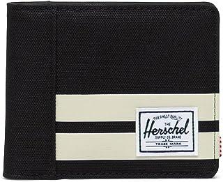 Herschel Roy RFID, Negro/Raya de Abedul, Talla única, Roy RFID