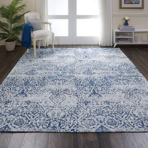 Country Blue Area Rug