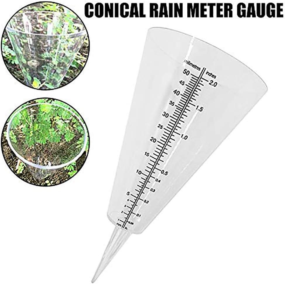 Patio, Lawn & Garden Outdoor Dcor 2in Capacity Rain Gauge Outdoor ...