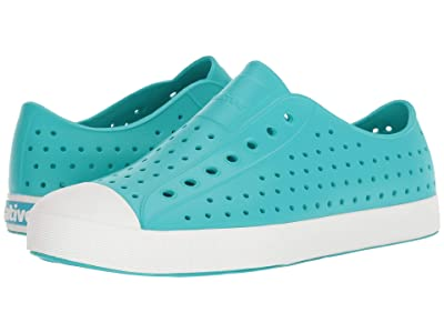 Native Shoes Jefferson (Glacier Green/Shell White) Shoes