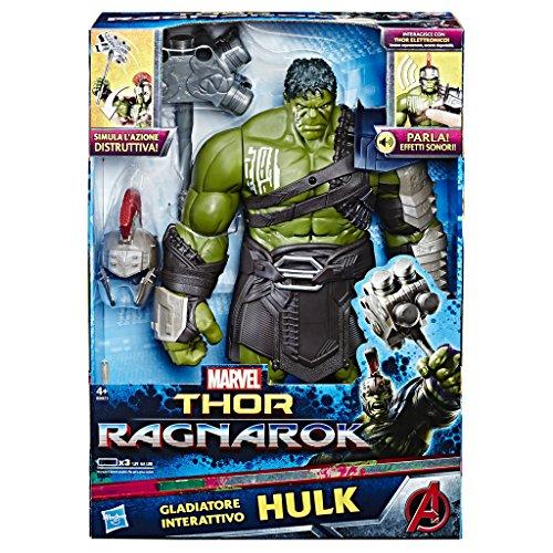 Thor: Ragnarok - Hulk Titan Hero Elettronico...