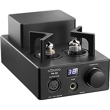XDUOO TA-20 High Performance Balanced Tube Headphone Amplifier Power Amplifier (Black)