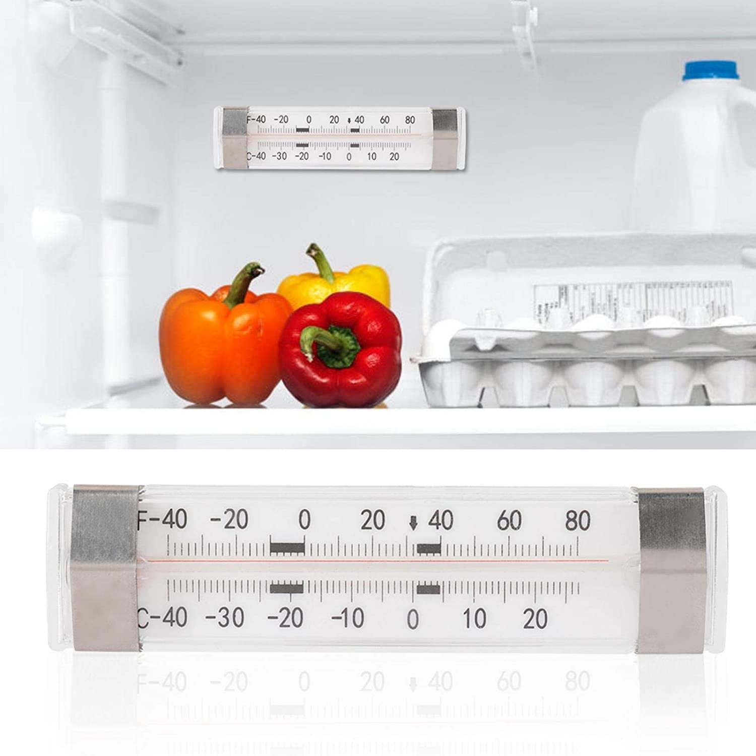 Some Free shipping reservation No Hydrargyrum Refrigerator High Ref for Restaurant Accuracy
