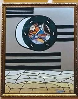 Pieza Ojo de Barco Símbolo Joya Yate 50 Aniversatio Puerto Banús. Obra de Arte.