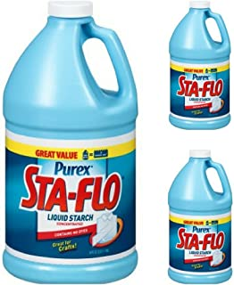 Purex Sta-Flo Concentrated Liquid Starch, 64 oz Bottle (3 pack)