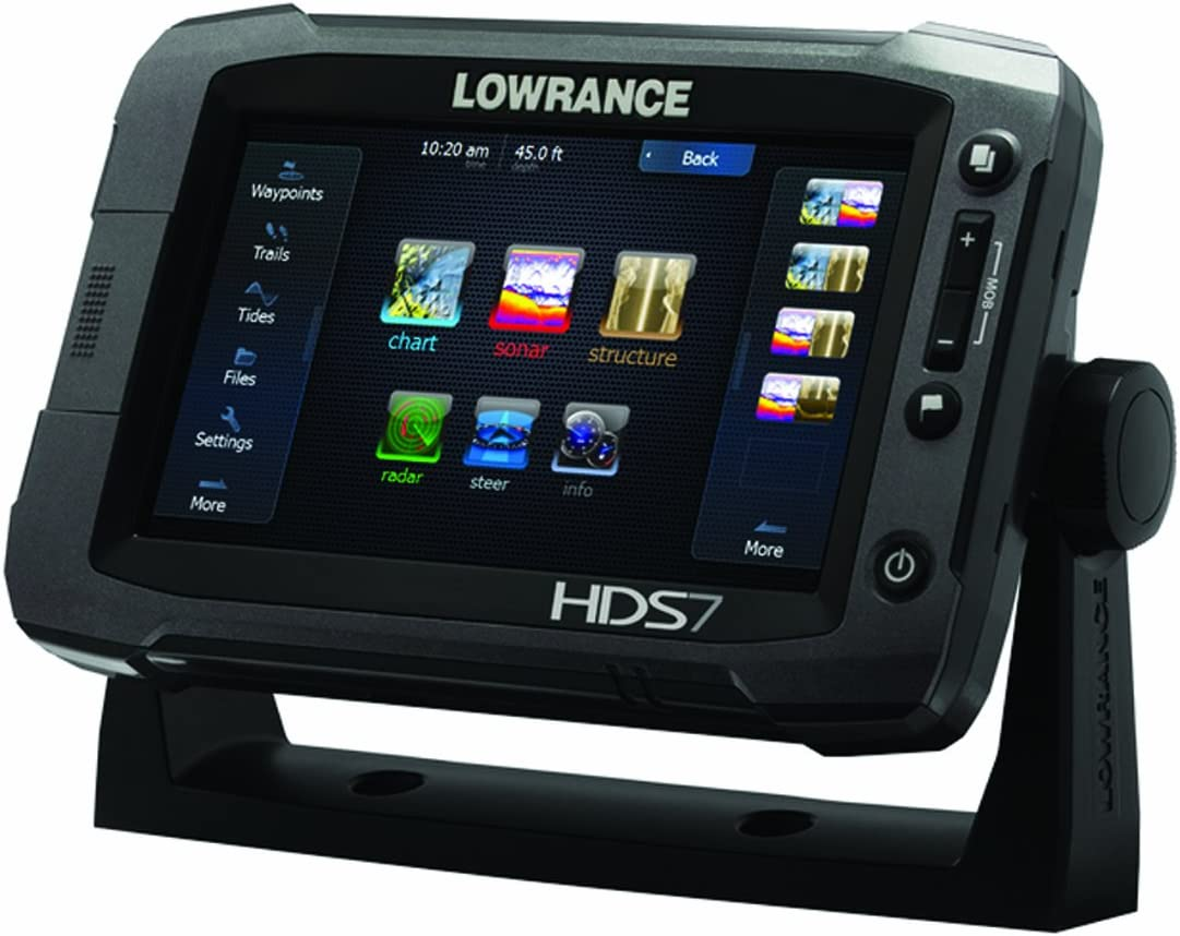 Lowrance HDS-7 Gen2 Touchscreen Charplotter with 83/200 KHz Skimmer