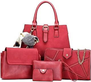 Handbags For Women 5 Piece Ladies' Shoulder Bag Diagonal Cross Bag Handbag