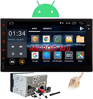 Double Din Car Stereo Android 10.0 Head Unit 2 Din Car Radio with Bluetooth GPS Navigation 7 inch Touch Screen Auto Audio ...