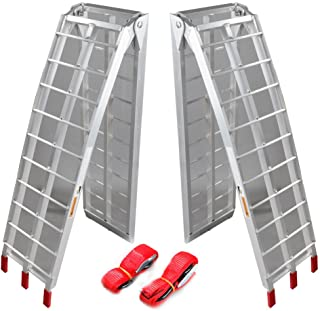 Aluminum Motorcycle Loading Ramp 76 Dirt Bike 6 inches wide 440 lb