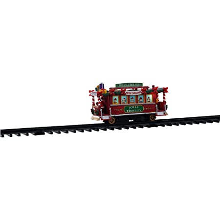 B//O #04738 Lemax Village Collection Jolly Trolley