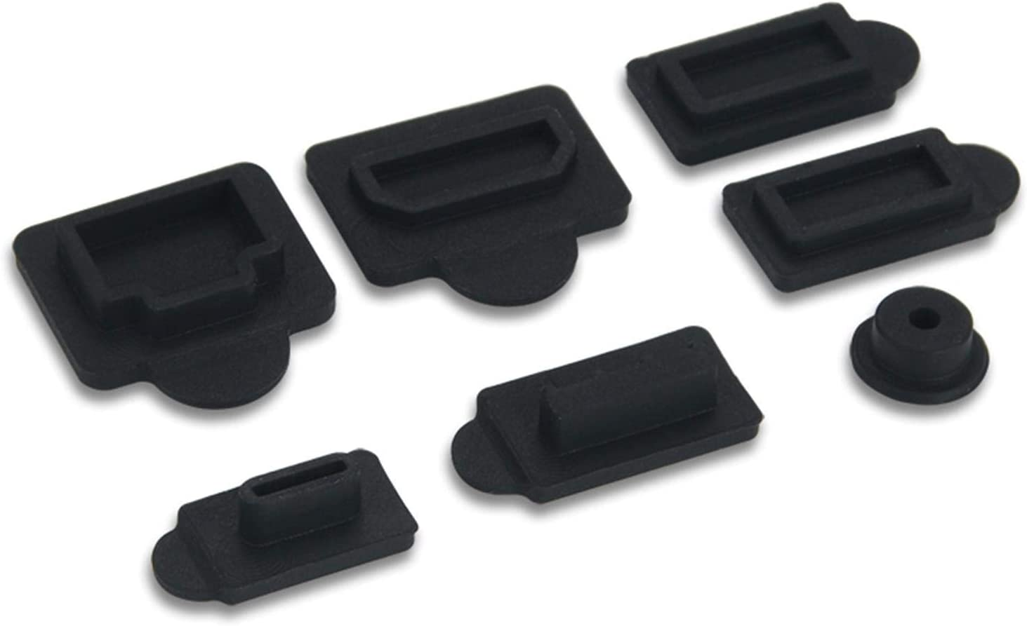 Amusingholiday Silicone Dust Plugs Anti-dust USB Set Los Angeles Mall Large discharge sale Interface
