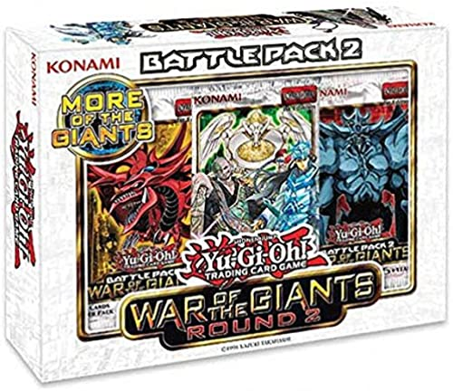 buscando agente de ventas Yugioh War of the Giants Giants Giants Battle Pack 2 - Round 2 [Toy]  mejor vendido