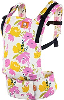 Tula Baby Free-to-Grow Baby Carrier, Adjustable Newborn to Toddler Carrier, for 7 to 45 Lbs, Hamptons