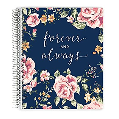Premium Wedding Planner, Wedding Organizer, Engagement Gift, Always and Forever, 12 Organized Sections 8.5x11