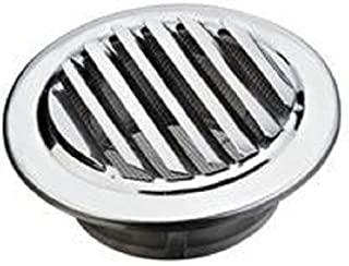 Rejilla de ventilación circular de acero inoxidable para
