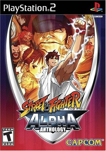 Capcom Street Fighter Alpha Anthology, PS2, ESP PlayStation 2 Español vídeo -...