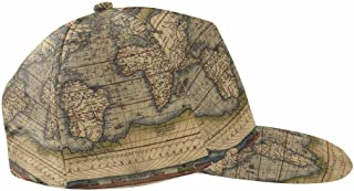 Vintage Nautical Compass Old World Map Youth Toddler Mesh Hats Baseball Trucker Cap