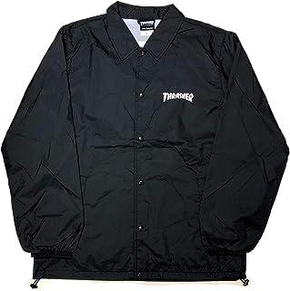 THRASHER MAG LOGO COACH JACKET スラッシャー コーチジャケット ブラック 黒