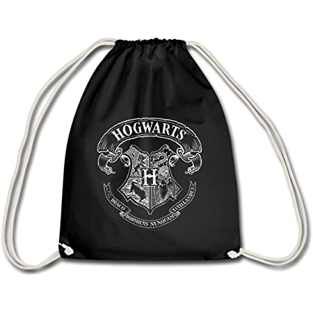 Spreadshirt Harry Potter Hogwarts Wappen Zeichnung Turnbeutel