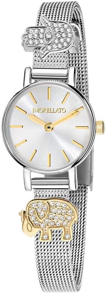 Morellato orologio da donna in acciaio pvd oro giallo e cristalli R0153142513