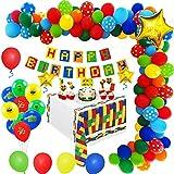 MMTX Geburtstagsdeko Jungen  Kindergeburtstag Deko