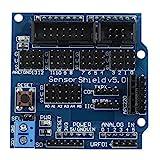 HALJIA Sensor Shield V5.0 Tarjeta de expansión Compatible con Arduino UNO Mega R3 Mega256...