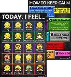 Emoji Feelings Chart and Keep Calm Posters -...