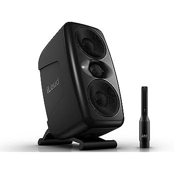 IK Multimedia iLoud MTM Compact Studio Monitor with Built-in Acoustic Calibration (Black)