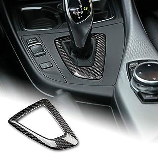 AIRSPEED Carbon Fiber Car Gear Shift Knob Panel Frame Cover Interior Trim Stickers for BMW F20 F21 F22 F23 F30 F34 F35 F32...