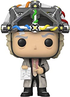 Funko Pop! Movie: Back to the Future-Doc w/helmet Collectible Toy, Multicolour - 46914