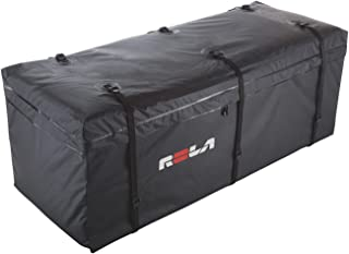 small covered luggage trailer
