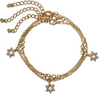 Female Anklets Barefoot Leaf Sandals Foot Jewelry Anklets On Foot Gold Round Ankle Bracelets for Women Leg Chain