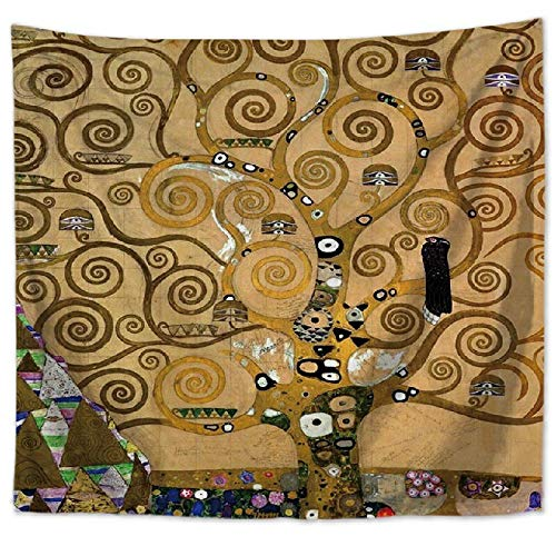 Hermoso bosque natural impreso tapiz de pared grande de hippie colgante de pared tapiz de pared bohemio tela de fondo a11 130x150cm