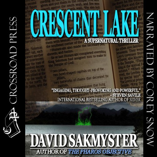 Crescent Lake audiobook cover art
