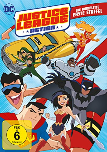 Justice League Action - Die komplette erste Staffel [4 DVDs]