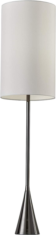 Adesso 4028-01 Bella 36.5  Table Lamp, Black Nickel Finish