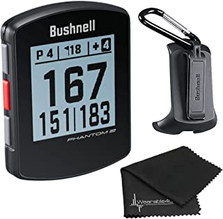 $134 » Bushnell Phantom 2 GPS Rangefinder with BITE Magnetic Mount and GreenView with Wearable4U Ultimate 3 Golf Tools Bundle