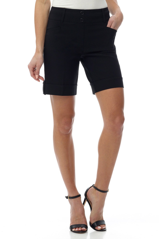 Rekucci Womens Ease into Comfort 8 inch Chic Urban Short