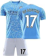 ZGDGG Los Aficionados de los Hombres Jerseys Manchester City F.C.2020-21 Jersey de Verano Floja y Transpirable Fútbol