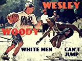 White Men Can't Jump Movie Retro Art Vintage Painting Basketball Woody Wesley Streetball 32x24 Poster Print