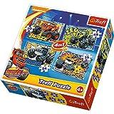 Puzzle Blaze i jego przyjaciele 4w1
