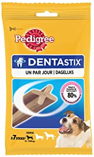 Pedigree Dentastix Dental Treat, Small, Adult, 7 sticks