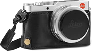 MegaGear Ever Ready Genuine Leather Camera Half Case Compatible with Leica D-Lux 7