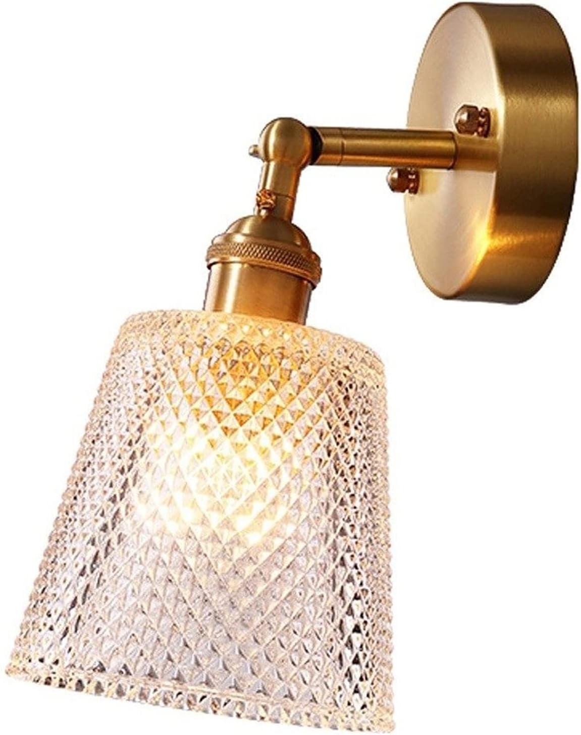 Outstanding GUCOTGUQ Modern Copper Glass Ball Sacramento Mall Wall Lamp Wa Gold Sconce