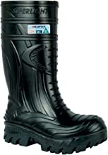 COFRA Waterproof Work Boots - THERMIC Cold Weather Rain Boot with Composite Safety Toe & Slip Resistant Nitrile Outsole -