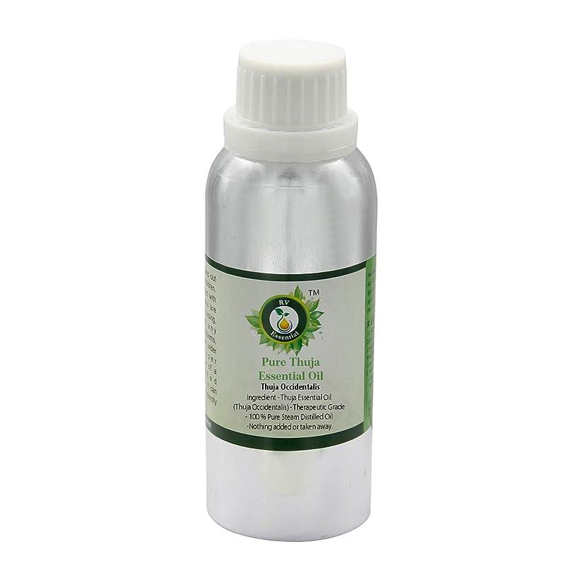 初心者叫ぶ愛人ピュアThujaエッセンシャルオイル300ml (10oz)- Thuja Occidentalis (100%純粋&天然スチームDistilled) Pure Thuja Essential Oil