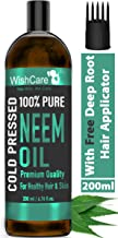 Wishcare® Cold Pressed Neem Oil - 200 Ml - 100% Pure Wild Crafted - For Skin & Hair