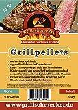 Grillschmecker Grillpellets Apfel 100% Apfelholz -