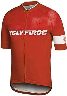 Uglyfrog 2016 Jersey De Ciclo Clásico De Manga Corta De Triatlón Ropa para Hombre del Estilo del Verano XDJ02